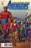 Cover Thumbnail for Avengers (2017 series) #672 [Incentive Jack Kirby 100th Anniversary Cover]