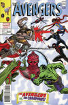 Cover Thumbnail for Avengers (2017 series) #672 [Second Printing Mike Allred Cover]