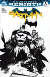 Cover for Batman (DC, 2016 series) #1 [Comic Madness Ed Benes Black and White Cover]