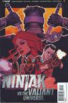 Cover for Ninjak vs. the Valiant Universe (Valiant Entertainment, 2018 series) #3 [Cover A - Greg Smallwood]
