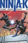 Cover for Ninja-K (Valiant Entertainment, 2017 series) #5 [Cover A - Trevor Hairsine]
