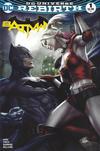 Cover for Batman (DC, 2016 series) #1 [Legacy Edition Artgerm Color Cover]