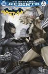 Cover for Batman (DC, 2016 series) #1 [Legacy Edition Artgerm Color Fade Cover]