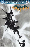 Cover for Batman (DC, 2016 series) #1 [Dynamic Forces Exclusive Jae Lee Black and White Variant]