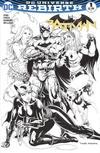 Cover Thumbnail for Batman (2016 series) #1 [Hastings Tyler Kirkham Black and White Cover]