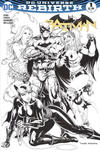 Cover Thumbnail for Batman (2016 series) #1 [Hastings Exclusive Tyler Kirkham Black and White Variant]