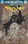 Cover for Batman (DC, 2016 series) #1 [A Shop Called Quest Exclusive Rafael Grampá Color Variant]