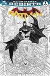 Cover for Batman (DC, 2016 series) #1 [A Shop Called Quest Rafael Grampá Black and White Cover]