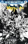Cover for Batman (DC, 2016 series) #1 [Amazing Comic Con Philip Tan Black and White Cover]