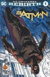 Cover for Batman (DC, 2016 series) #1 [La Mole Comic Con Internacional David Finch Cover]