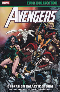 Cover Thumbnail for Avengers Epic Collection (Marvel, 2013 series) #22 - Operation Galactic Storm