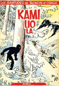 Cover Thumbnail for Blondin et Cirage (Dupuis, 1951 series) #[4] - Kamiliola