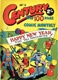 Cover Thumbnail for Century, The 100 Page Comic Monthly (K. G. Murray, 1956 series) #8