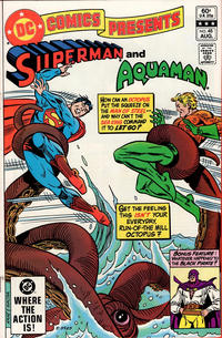 Cover Thumbnail for DC Comics Presents (DC, 1978 series) #48 [Direct]