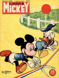 Cover Thumbnail for Le Journal de Mickey (Disney Hachette Presse, 1952 series) #14