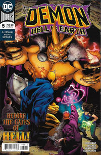 Cover Thumbnail for The Demon: Hell Is Earth (DC, 2018 series) #5