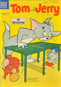 Cover Thumbnail for Tom und Jerry (Tessloff, 1959 series) #6