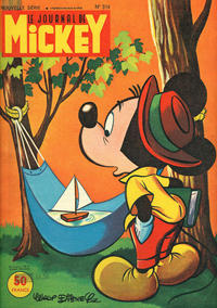 Cover Thumbnail for Le Journal de Mickey (Hachette, 1952 series) #314