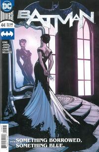 Cover Thumbnail for Batman (DC, 2016 series) #44 [Joëlle Jones Cat Cover]
