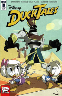 Cover Thumbnail For DuckTales IDW 2017 Series 8 B