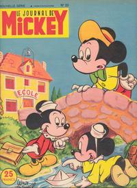 Cover Thumbnail for Le Journal de Mickey (Disney Hachette Presse, 1952 series) #23