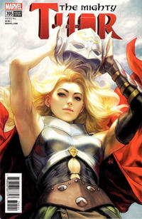 """Cover Thumbnail for Mighty Thor (Marvel, 2016 series) #705 [Stanley """"Artgerm"""" Lau Variant Edition]"""