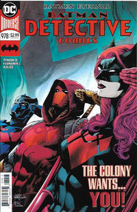 Cover Thumbnail for Detective Comics (DC, 2011 series) #978