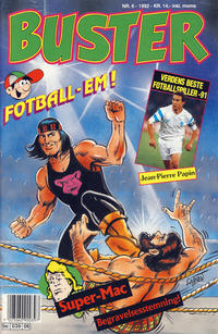 Cover Thumbnail for Buster (Semic, 1984 series) #6/1992