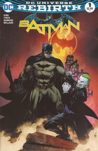 Cover Thumbnail for Batman (DC, 2016 series) #1 [Comic Madness Exclusive Ed Benes Color Variant]