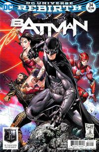 Cover Thumbnail for Batman (DC, 2016 series) #34 [Tony S. Daniel / Danny Miki Justice League Cover]