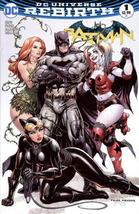 Cover Thumbnail for Batman (DC, 2016 series) #1 [Hastings Exclusive Tyler Kirkham Color Variant]