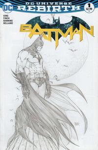 Cover Thumbnail for Batman (DC, 2016 series) #1 [Aspen Comics Exclusive Michael Turner Sketch Variant]
