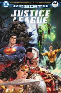Cover Thumbnail for Justice League Rebirth (Urban Comics, 2017 series) #4