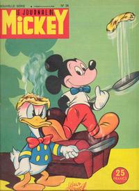 Cover Thumbnail for Le Journal de Mickey (Disney Hachette Presse, 1952 series) #36