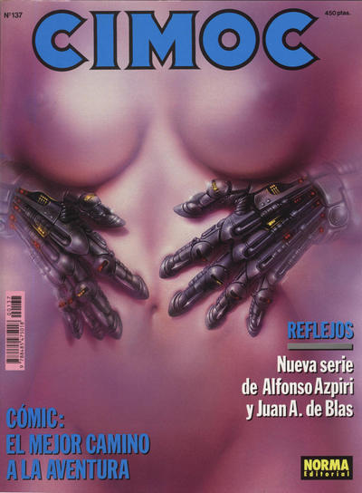 Cover for Cimoc (NORMA Editorial, 1981 series) #137