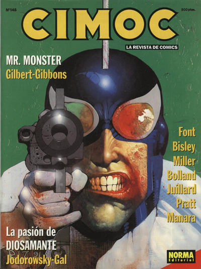 Cover for Cimoc (NORMA Editorial, 1981 series) #145