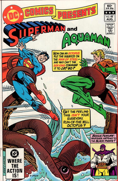 Cover for DC Comics Presents (DC, 1978 series) #48 [Direct]