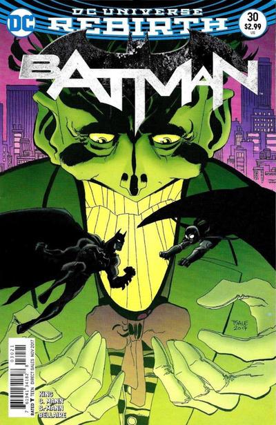 Cover for Batman (DC, 2016 series) #30 [Tim Sale]