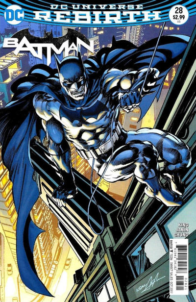 Cover for Batman (DC, 2016 series) #28 [Neal Adams]