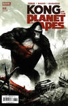 Cover for Kong on the Planet of the Apes (Boom! Studios, 2017 series) #6 [Cover A Mike Huddleston]