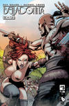 Cover for Belladonna: Fire and Fury (Avatar Press, 2017 series) #5 [Nude Cover]
