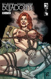 Cover for Belladonna: Fire and Fury (Avatar Press, 2017 series) #5 [Bondage Nude Cover]