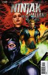 Cover for Ninjak vs. the Valiant Universe (Valiant Entertainment, 2018 series) #4 [Cover B - Cafu]