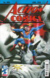 Cover Thumbnail for Action Comics (2011 series) #1000 [1930s Variant Cover by Steve Rude]