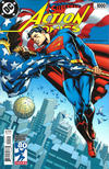 Cover Thumbnail for Action Comics (2011 series) #1000 [1970s Variant Cover by Jim Steranko]