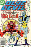 Cover for Blue Devil (DC, 1984 series) #14 [Canadian Newsstand]