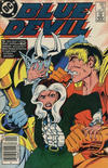 Cover for Blue Devil (DC, 1984 series) #16 [Canadian Newsstand]