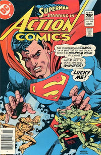 Cover Thumbnail for Action Comics (DC, 1938 series) #549 [Canadian]