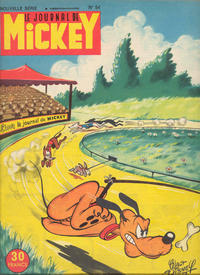 Cover Thumbnail for Le Journal de Mickey (Disney Hachette Presse, 1952 series) #54