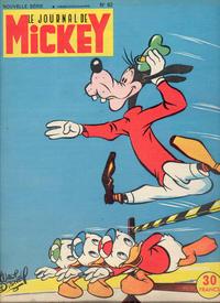 Cover Thumbnail for Le Journal de Mickey (Hachette, 1952 series) #63